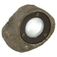 Coleman 95828 Low Voltage Rock Spotlight, 20 W, MR16