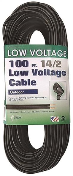 Coleman 095041008 Low Voltage Electrical Cable, 14 AWG, 100 ft