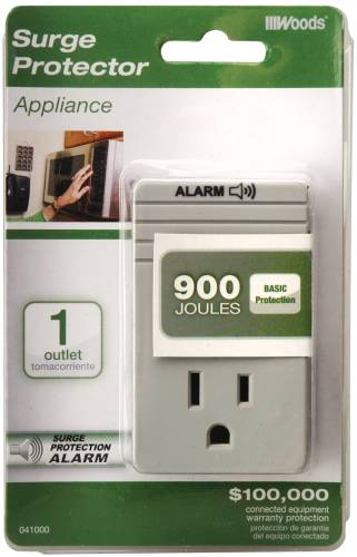COLEMAN CABLE 1 OUTLET APPLIANCE SURGE PROTECTOR