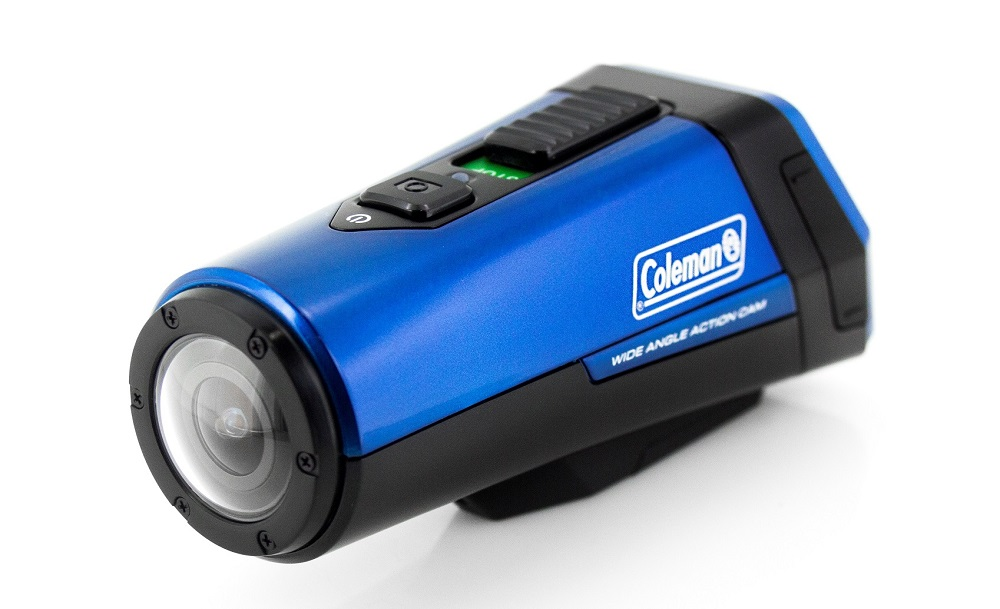 COLEMAN CX9WPBL BLUE CAMERA FOR SPORTS AND EXERCISE WITH