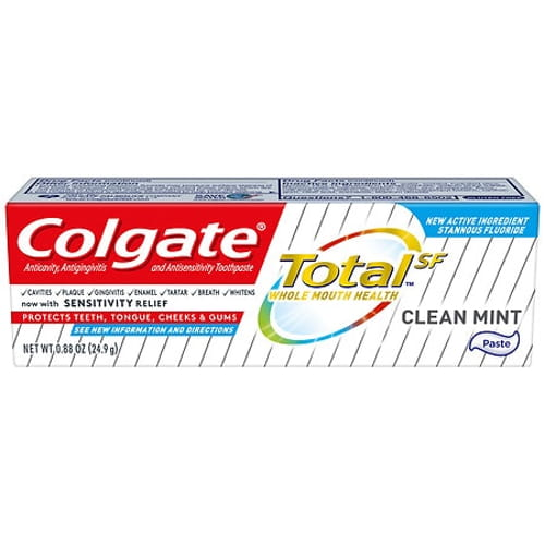 Total Toothpaste, Coolmint, 0.88 oz, 24/Carton