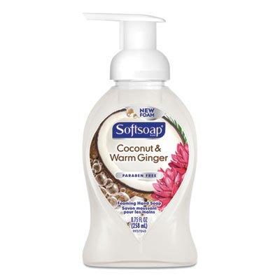 Sensorial Foaming Hand Soap, 8.75 oz Pump Bottle, Coconut and Warm Ginger, 6/Carton