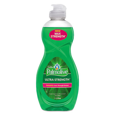 Dishwashing Liquid, Ultra Strength, Original Scent, 10 oz Bottle, 16/Carton