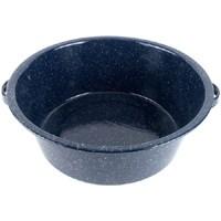 Granite-Ware F6414-6 Round Dish Pan, 10 qt Capacity, Steel, Blue