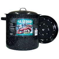Columbian F6315-4 Seafood Steamer With Cover, 16 qt Capacity