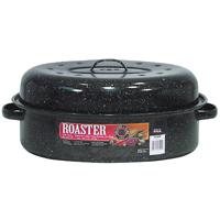 ROASTER W/CVR OVAL 15 LB