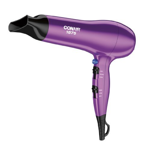 CONAIR 237PK 1,875-Watt Ionic Conditioning Hair Dryer