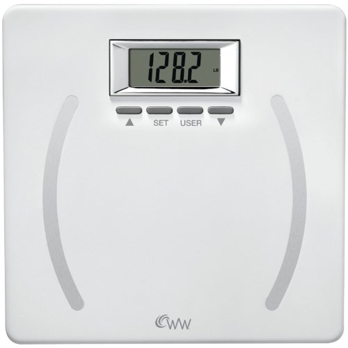 CONAIR WW28YF Weight Watchers Plastic Body Fat Scale