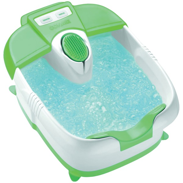 Conair FB30 Massaging Foot Spa with Bubbles, Heat & Pedicure Attachments