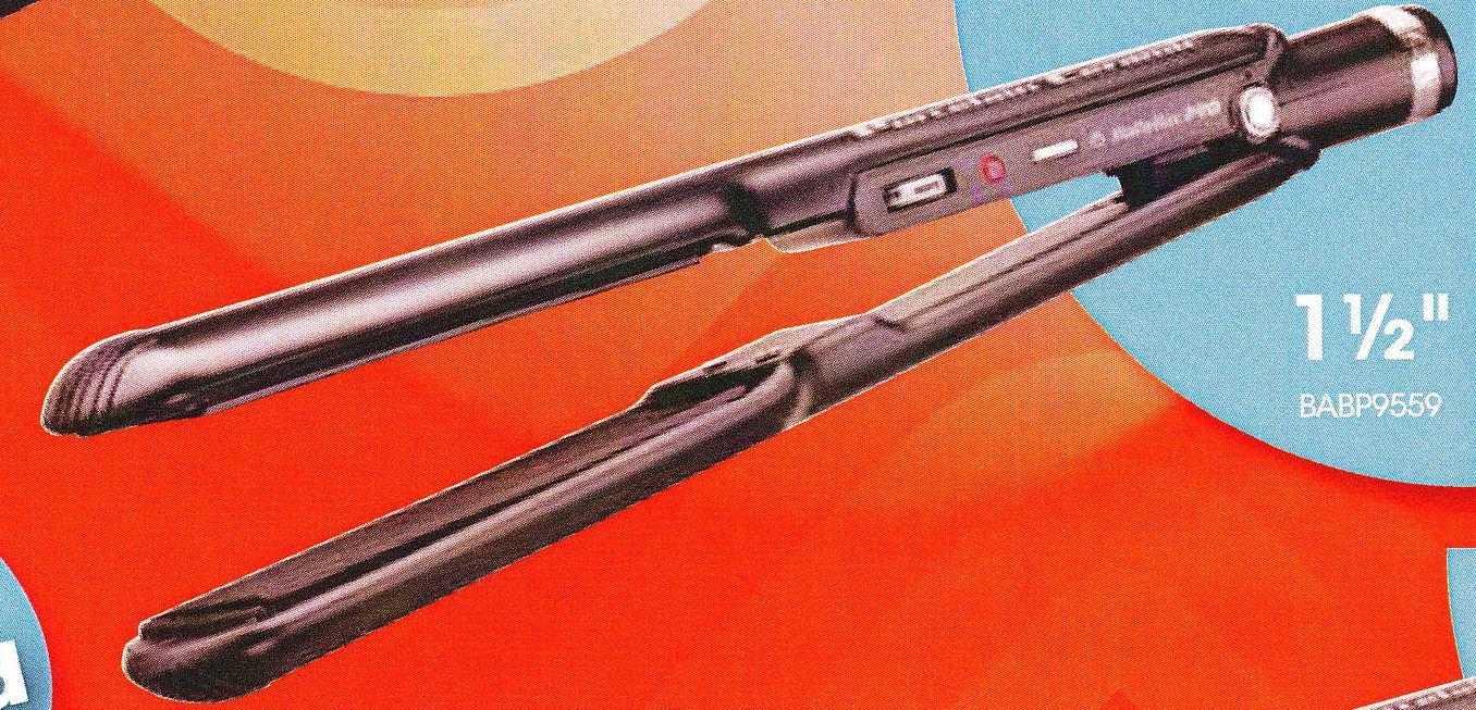 CONAIR BABP9559 BABYLISS PRO STRAIGHTENING IRON 1 1/2 INCH