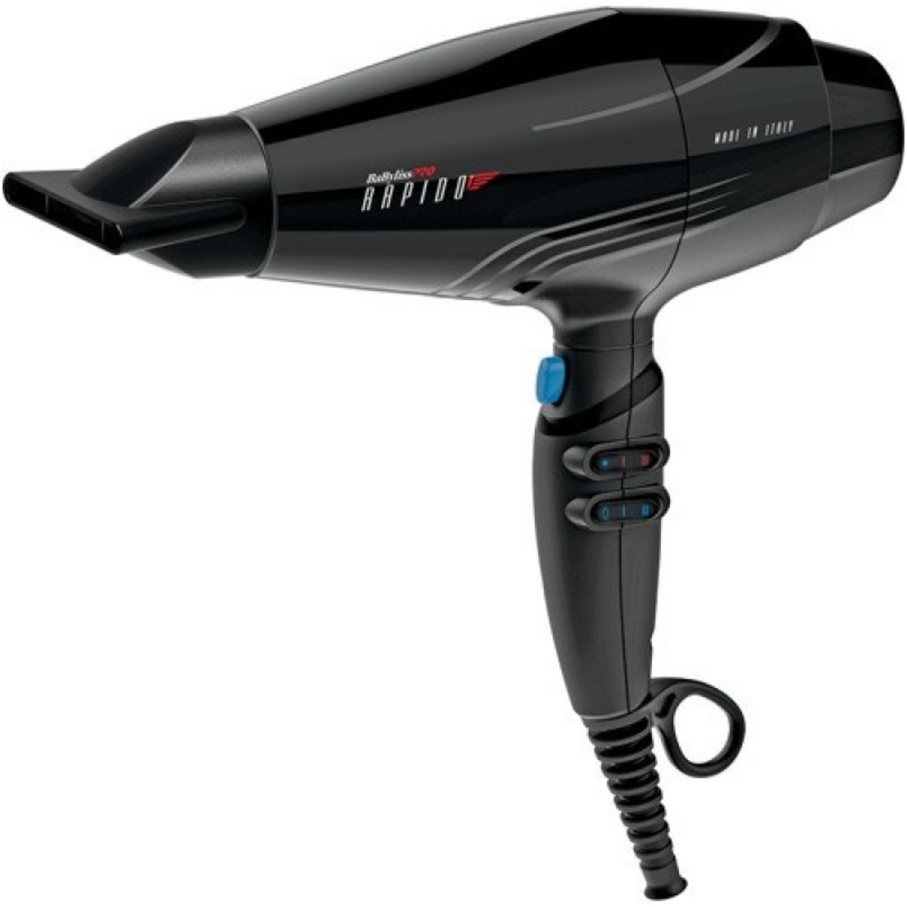 CONAIR BABF7000 HAIR DRYER BABYLISS PRO RAPIDO SUPER LIGHT