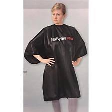BABYLISS PRO BABCUTCAPE BLACK HAIR CUTTING CAPE IS WATERPROOF