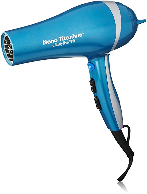 CONAIR BNTB6610 BLUE 2000W HAIRDRYER WITH NANO TITANIUM HEAT