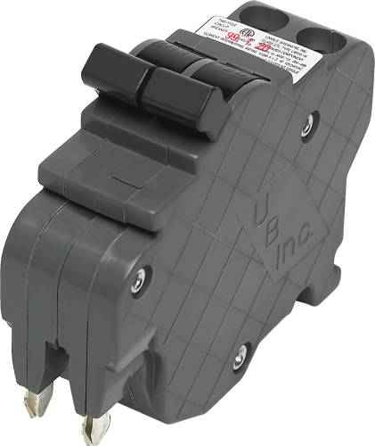 FEDERAL COMPATIBLE TWO POLE THIN BREAKER 20 AMPS