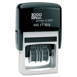 Economy Dater, Self-Inking, Black