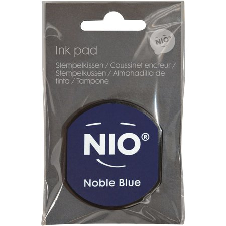 Ink Pad for NIO Stamp with Voucher, Noble Blue