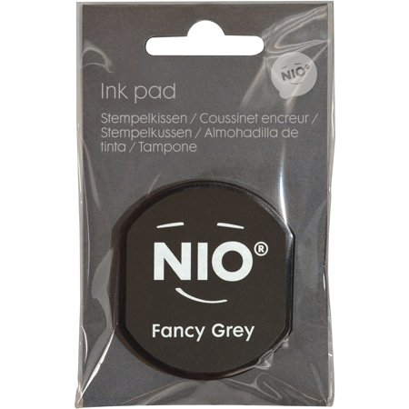 Ink Pad for NIO Stamp with Voucher, Fancy Gray