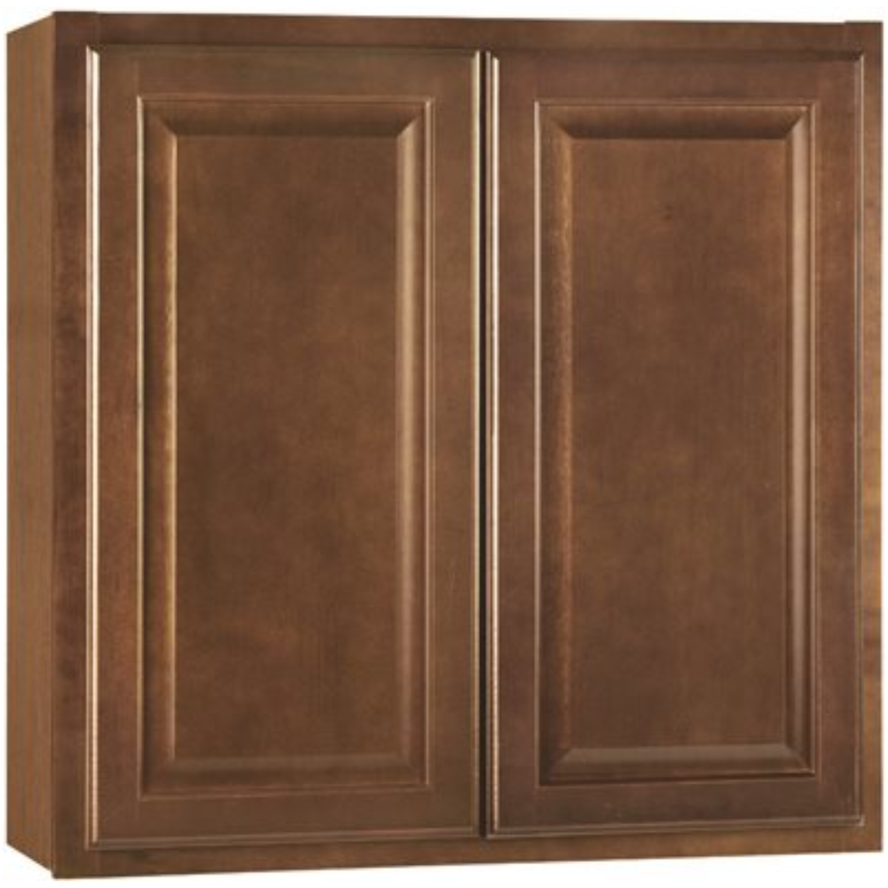 RSI HOME PRODUCTS HAMILTON KITCHEN WALL CABINET, FULLY ASSEMBLED, RAISED PANEL, CAFE, 30X30X12 IN.