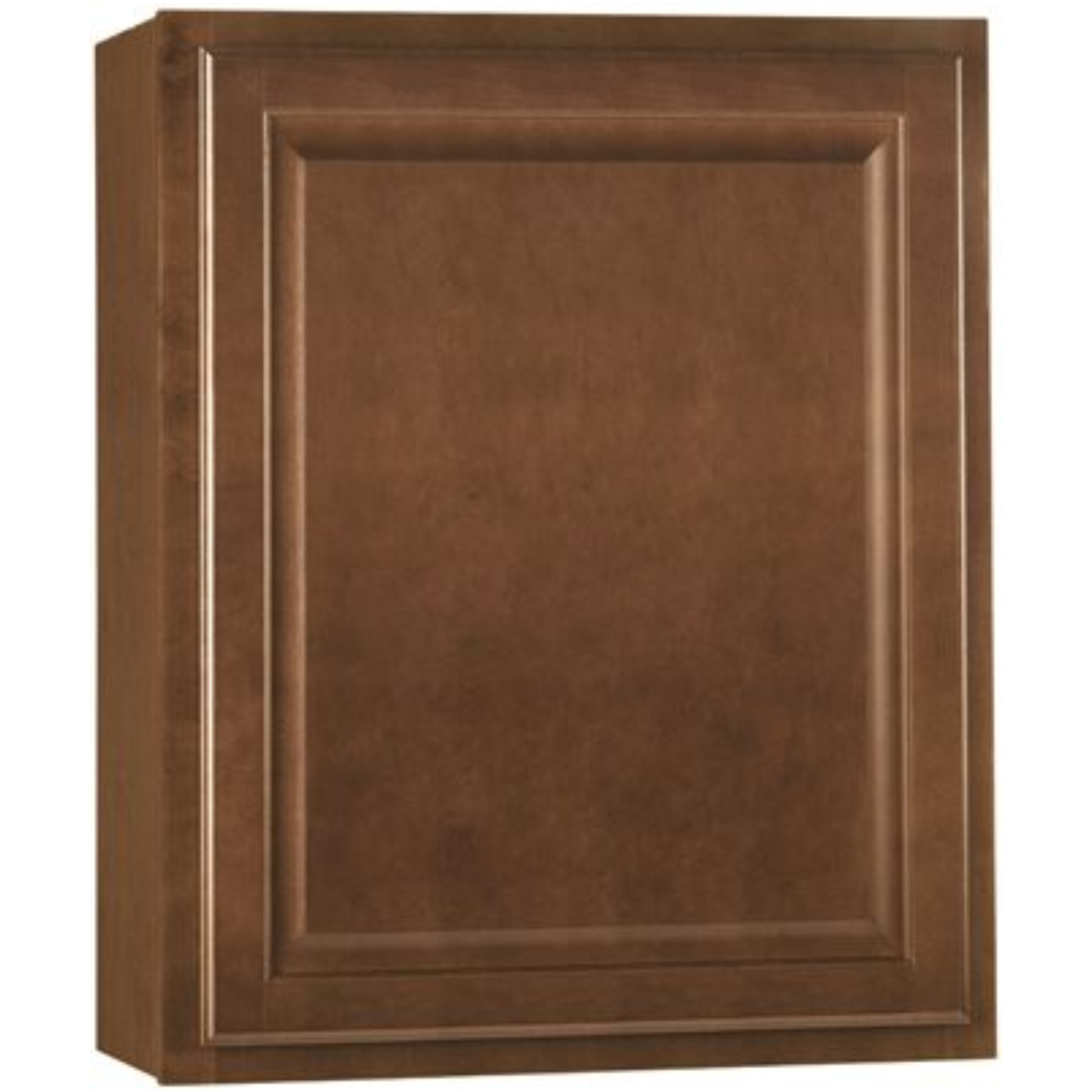 RSI HOME PRODUCTS HAMILTON KITCHEN WALL CABINET, FULLY ASSEMBLED, RAISED PANEL, CAFE, 27X30X12 IN.