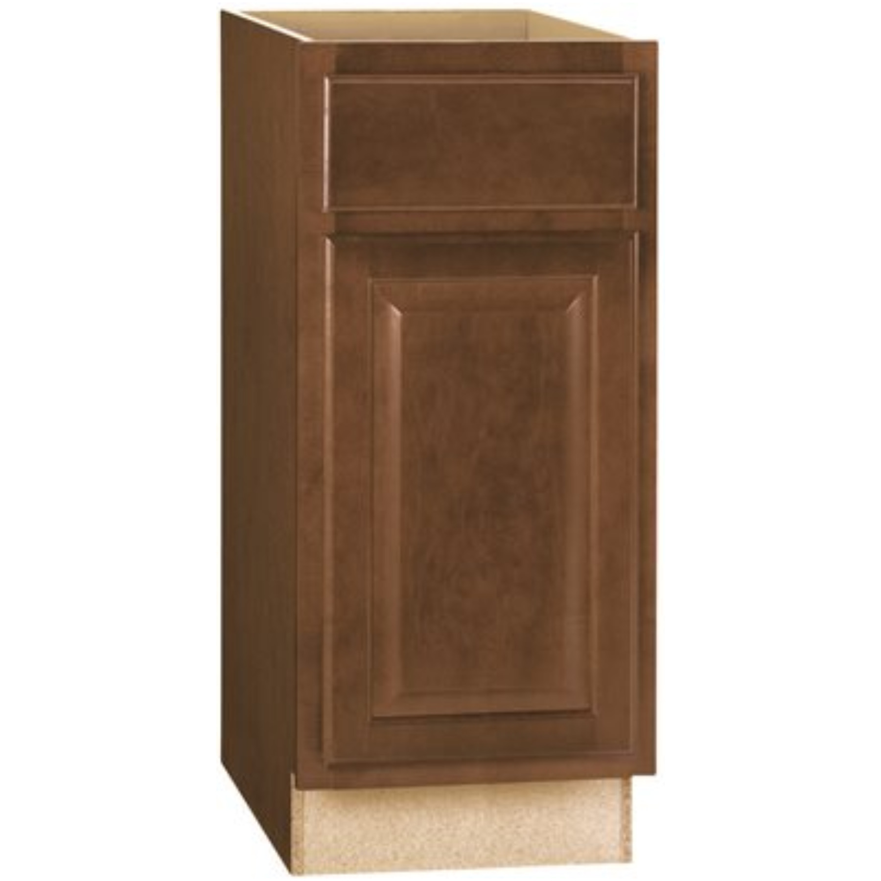 RSI HOME PRODUCTS HAMILTON BASE CABINET, FULLY ASSEMBLED, RAISED PANEL, CAFE, 15X34-1/2X24 IN.