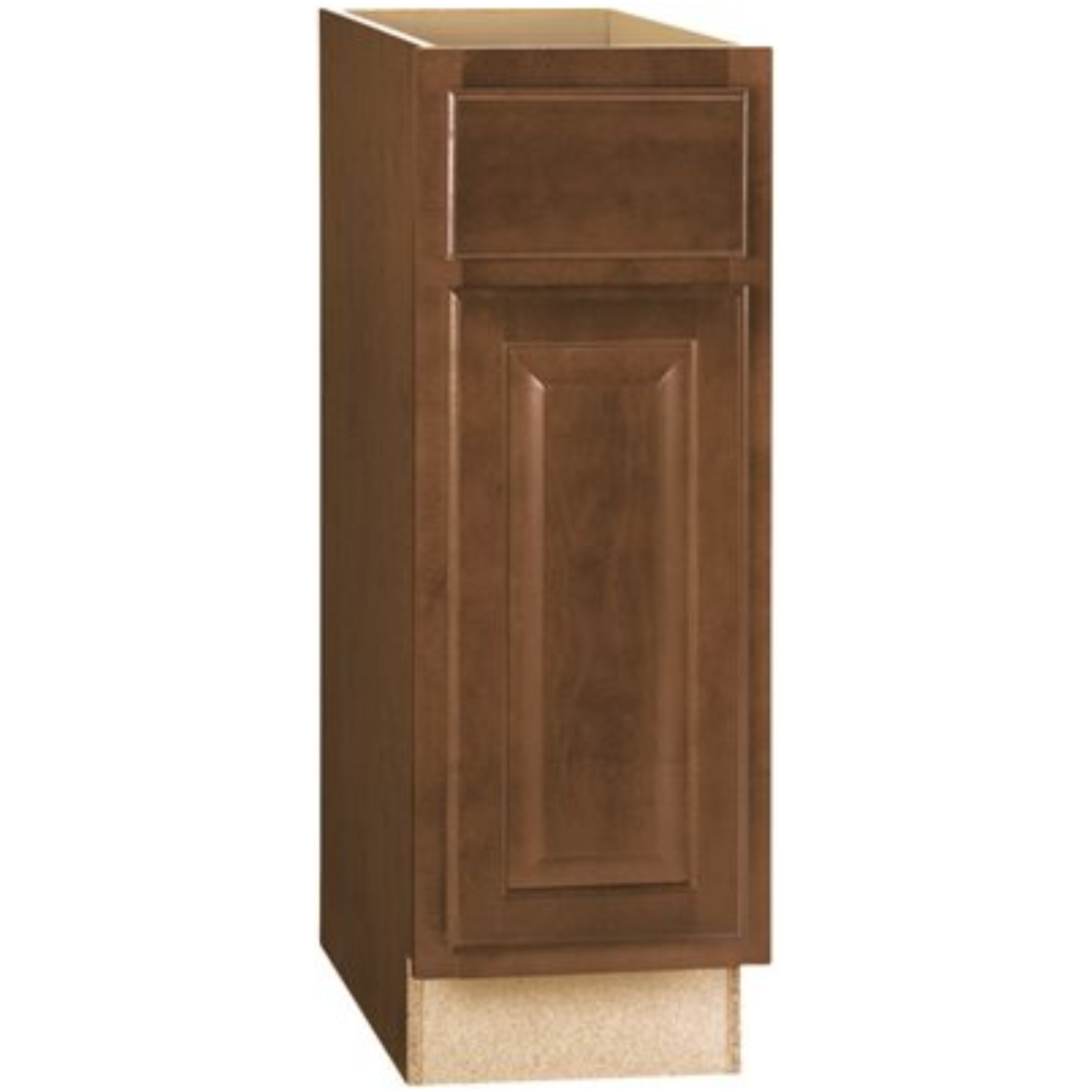 RSI HOME PRODUCTS HAMILTON BASE CABINET, FULLY ASSEMBLED, RAISED PANEL, CAFE, 12X34-1/2X24 IN.