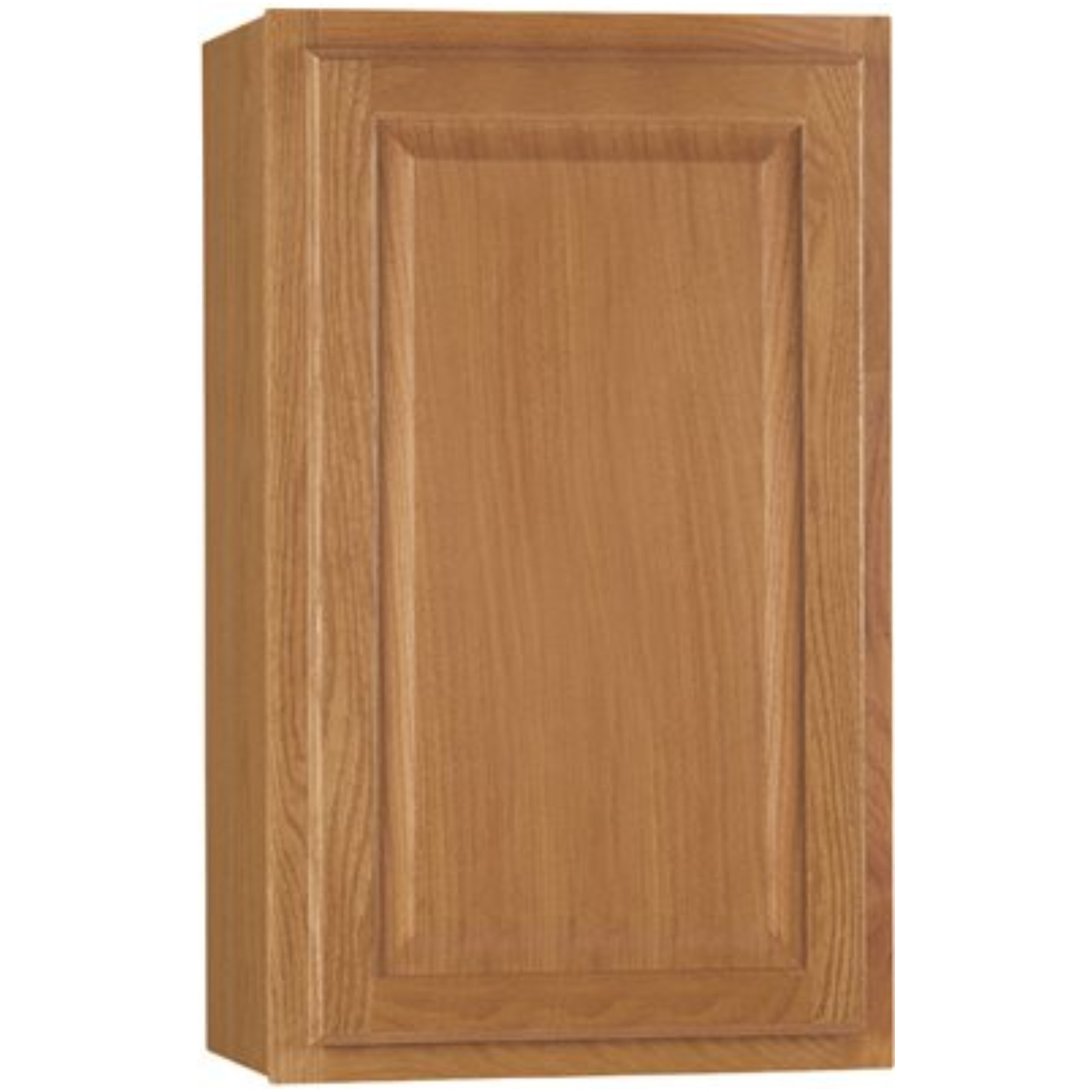 RSI HOME PRODUCTS HAMILTON KITCHEN WALL CABINET, FULLY ASSEMBLED, RAISED PANEL, OAK, 21X30X12 IN.