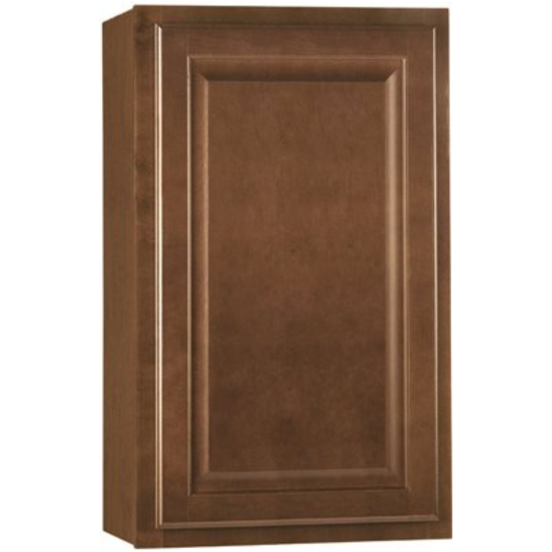 RSI HOME PRODUCTS HAMILTON KITCHEN WALL CABINET, FULLY ASSEMBLED, RAISED PANEL, CAFE, 18X30X12 IN.