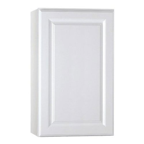 RSI HOME PRODUCTS KITCHEN WALL CABINET, FULLY ASSEMBLED, RAISED PANEL, WHITE, 18X30X12 IN.
