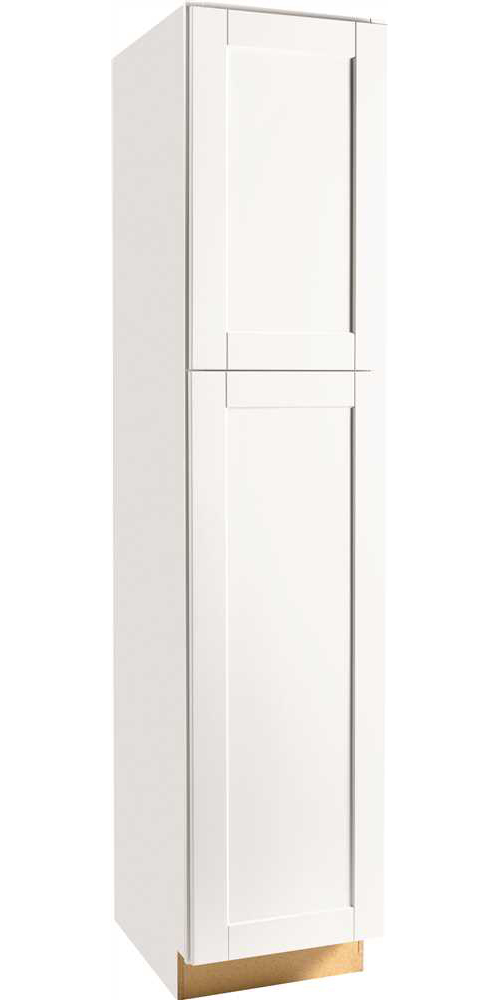 RSI HOME PRODUCTS ANDOVER SHAKER PANTRY, WHITE, 84 IN.