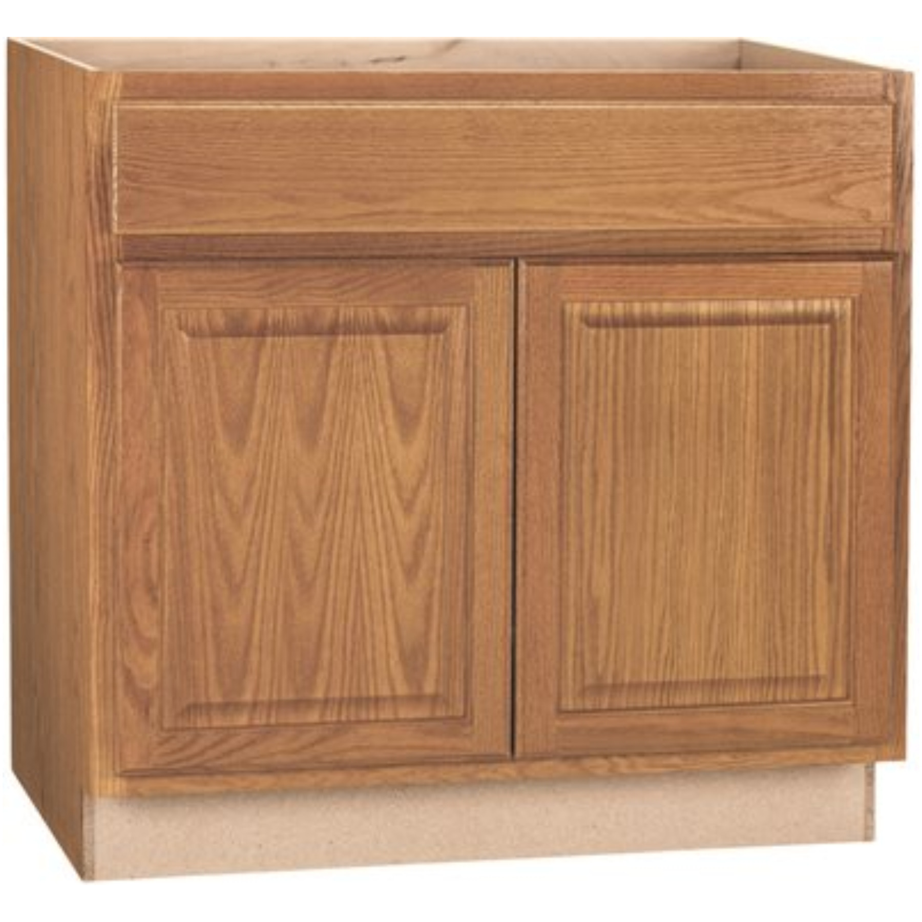 RSI HOME PRODUCTS ANDOVER SHAKER ADA SINK BASE CABINET, JAVA, 36 IN.