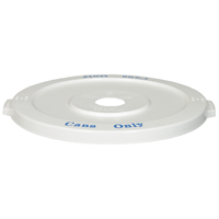 WHITE LID W/HOLE FOR CAN3200BL