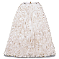 Wilen A503320 Cut End Non-Bacterial Resistant Mop Head, For Use With Pinnacle Handle, 4-Ply Cotton