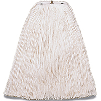 Wilen A503324 Cut End Non-Bacterial Resistant Mop Head, For Use With Pinnacle Handle, 4-Ply Cotton