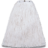 Pinnacle A504320 Cut End Non-Bacterial Resistant Mop Head, For Use With Pinnacle Handle, White