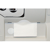 CMC 8255 Absorbent Disposable Bed Liner, For Use With 8252-H and 8252-V Model Baby Changers, White