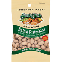 SNACK CLUB PISTACHIO2.25OZ/6CT