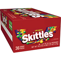 SKITTLES ORIGINAL STD 2.17 OZ