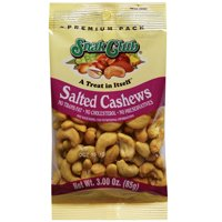 SNACK CLUB  CASHEWS 2.5OZ