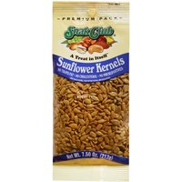 Snak Club SC21473 Premium Pack Sunflower Kernel, 7.5 oz, Roasted and Salted