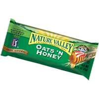 Nature Valley NVOH18 Crunchy Granola Bar, 1.5 oz, Oat and Honey