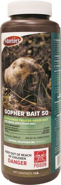 Martin's 82004693 Gopher Control Bait, 1 lb
