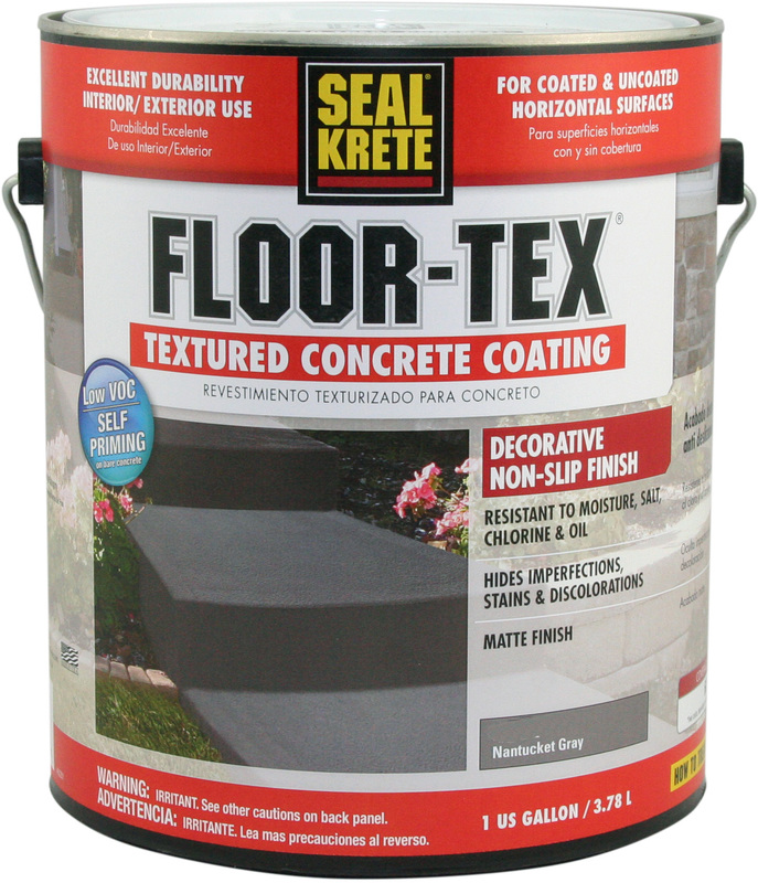 1 Gallon Gray Floor Textured Paint