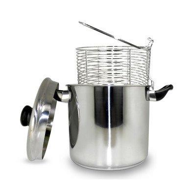 Cookpro 523 Steel Deep Fryer 6 Quart Stovetop
