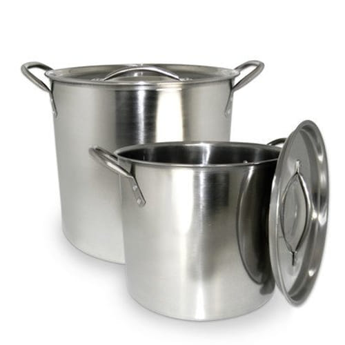 Cookpro 524 Steel Stockpot 8 Quart And 12 Quart