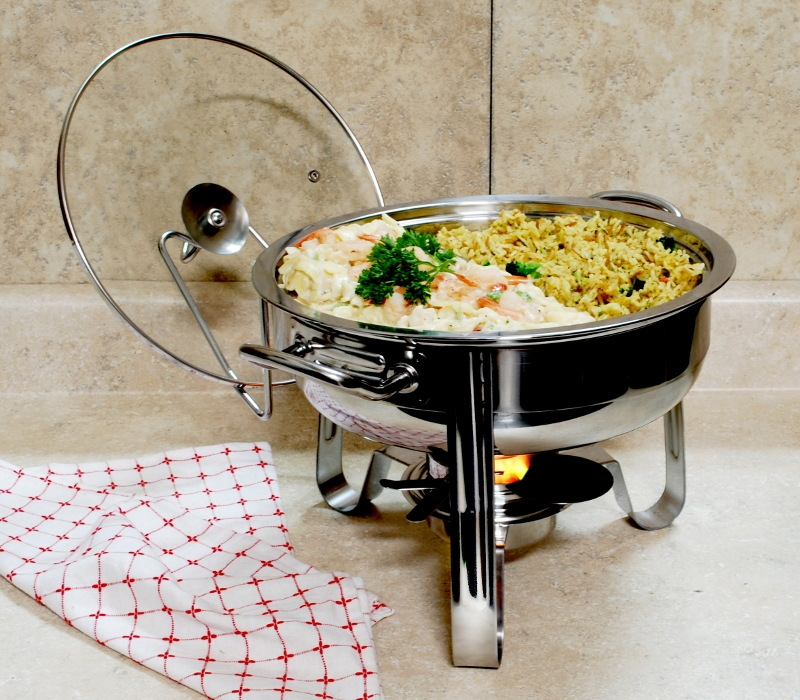 COOKPRO 583 STAINLESS STEEL CHAFING DISH 4QT