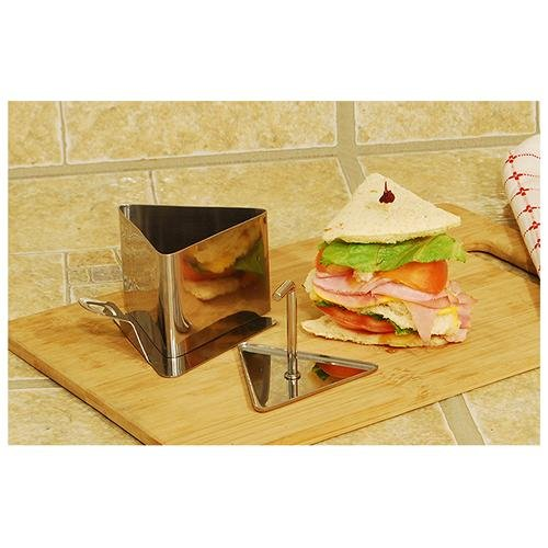 COOKPRO 313 STAINLESS FOOD MOLD TRIANGLE INCLUDES ONE FOOD