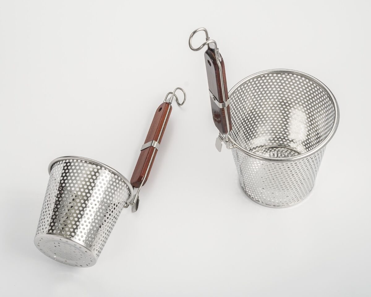 COOKPRO 290A12 STAINLESS STELL SAKURA STRAINER WITH CERAMIC