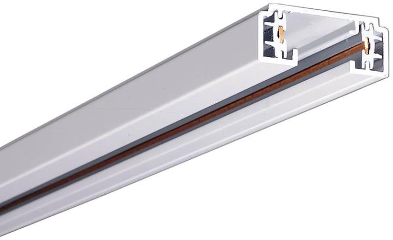 Halo LZR102P Miniature Linear Laser Track Light System, 2 ft L x 1-3/8 in W x 9/16 in H, White