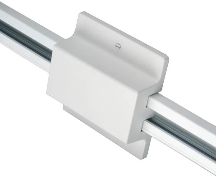 Cooper LZR000202P Laser Track Floating Canopy Feed, For Use With Existing Electrical Box, White