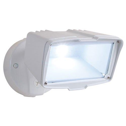 Cooper Lighting FSL2030LW Large Single Head Flood Light, White Housing, 1 Lamps, 120 VAC, 60 Hz, LED, 30 W Lamp
